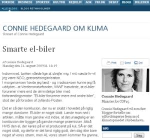 Connie-Hedegaard-whf-forurener-elbiler-mere-end-almindelige-benzin-biler