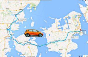 Århus-København-Elbiler-DK